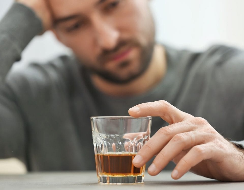 inflammation cause of alcoholism and depression