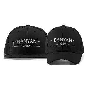 Banyan Cares Block Dad and Flat Brim Hats