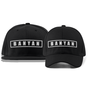 Banyan Cares Box Dad and Flat Brim Hats