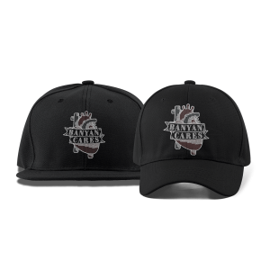 Banyan Cares Heart Dad and Flat Brim Hats