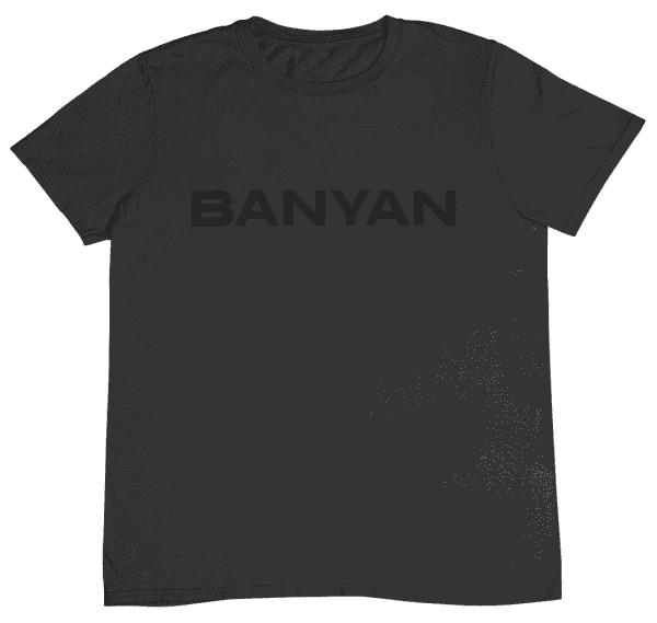 Men's Banyan Cares Black on Black