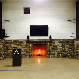 Clearbrook Treatment Center Fireplace