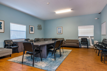 Florida Center For Behavioral Health Group Therapy Room